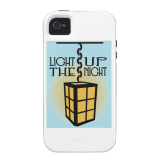 Light Up The Night Vibe iPhone 4 Cover