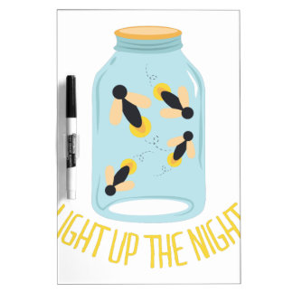 Light Up The Night Dry Erase Board