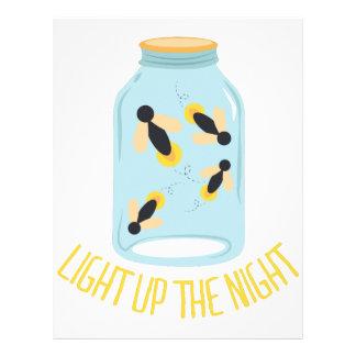 Light Up The Night Letterhead