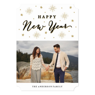 Light Up the Sky | Holiday Photo Card Announcement