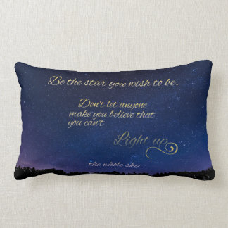 """Light Up The Sky"" Pillow"