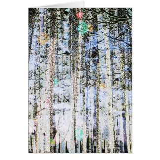 Light Up The Trees Note Card