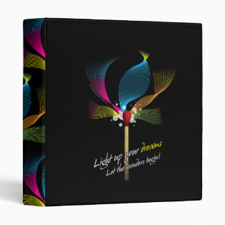 Light Up Your Dreams 3 Ring Binder
