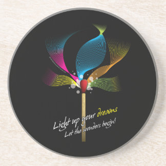 Light Up Your Dreams Drink Coaster