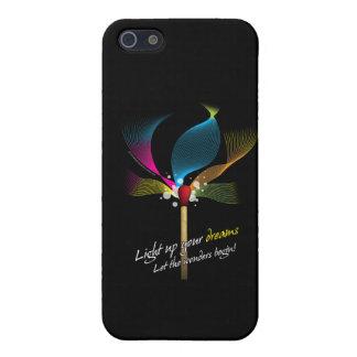 Light Up Your Dreams iPhone SE/5/5s Case