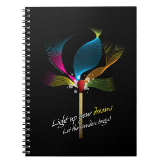 Light Up Your Dreams Notebook