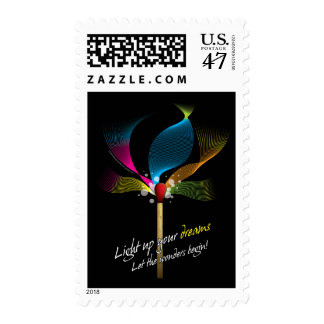 Light Up Your Dreams Stamp