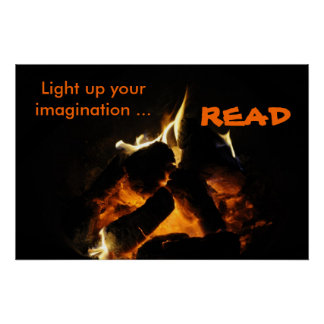 Light up yourimagination ..., READ Poster
