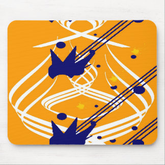 Light Vectors on Olympic Gold Mousepad