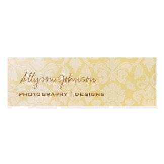 Light Vintage Business Cards