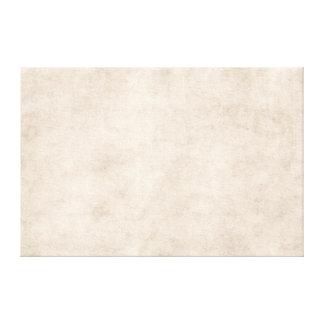 Light Vintage Parchment Antique Paper Background Canvas Print