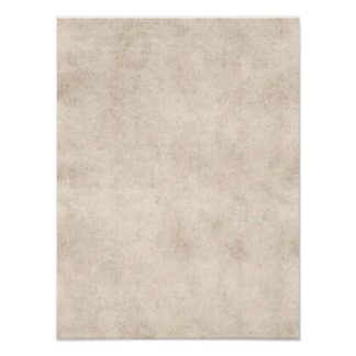 Light Vintage Parchment Antique Paper Background Poster