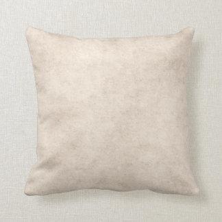 Light Vintage Parchment Antique Paper Background Throw Pillow