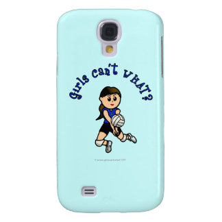 Light Volleyball in Blue Samsung S4 Case