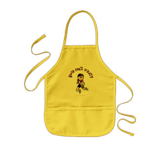 Light Volleyball in Red Kids' Apron