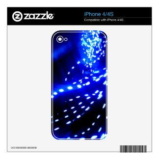 Light Vortex iPhone Skin iPhone 4 Skin