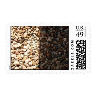 Light vs. Dark Postage Stamp
