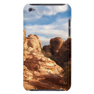 Light vs Shadow on Red Cliffs iPod Case-Mate Cases