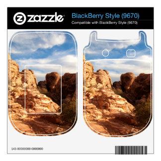 Light vs Shadow on Red Cliffs Skin For BlackBerry