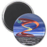 :Light Wave 5: Designer Products by CricketDiane 2 Inch Round Magnet