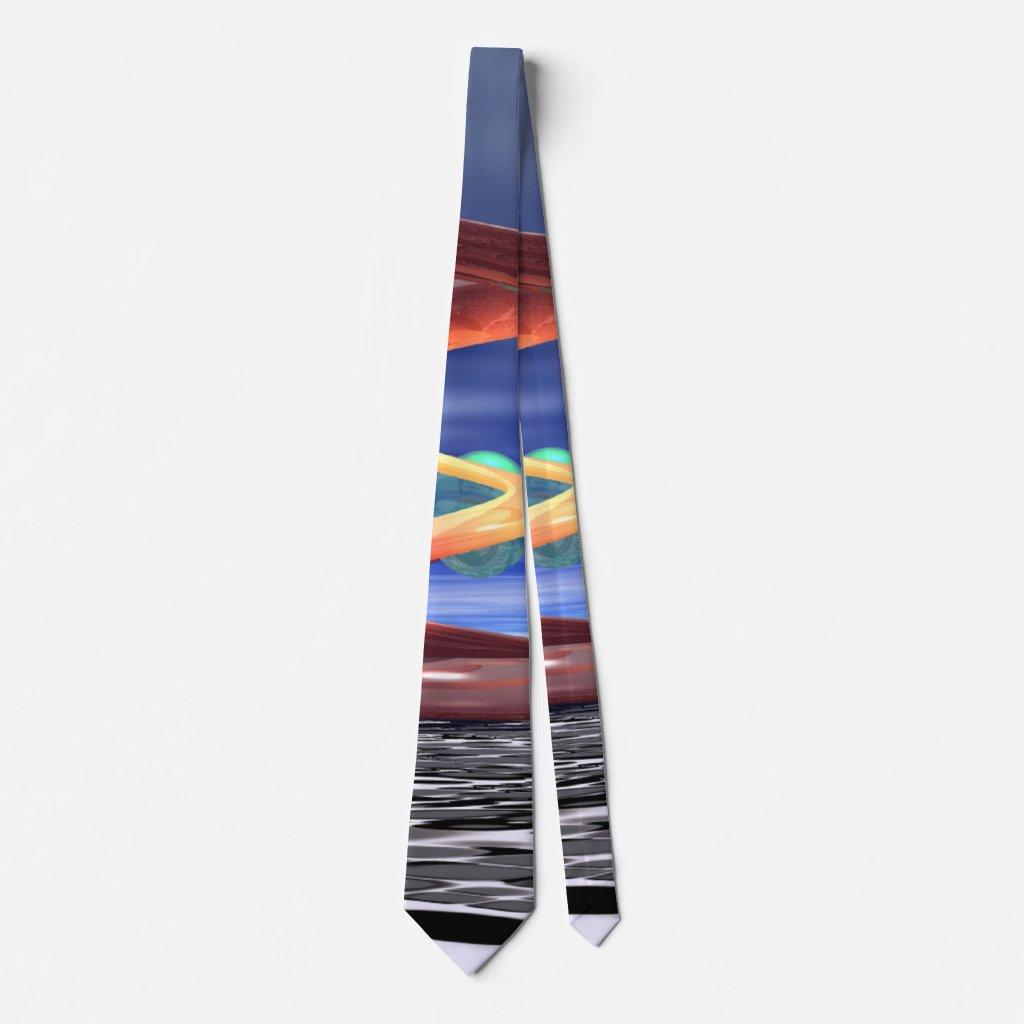 :Light Wave 5: Mens' Designer Tie by CricketDiane