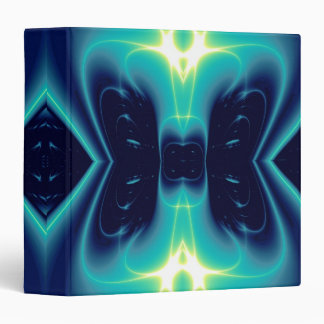 LIGHT WAVES 3 RING BINDER
