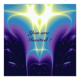 LIGHT WAVES ,Blue,Purple,White Card