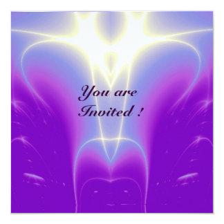 LIGHT WAVES ,Pink,Fuchsia,,Purple,White Card