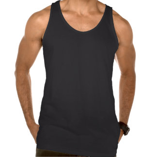 LIGHT WEIGHT MORE TENSION - TANK - Green and Black