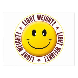 Light Weight Smiley Postcard