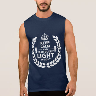Light weight sleeveless tees