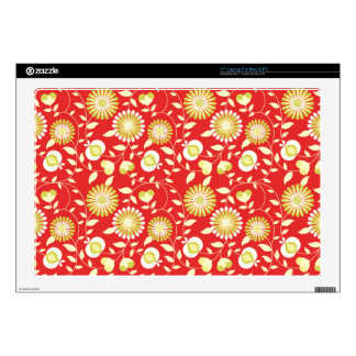 """Light Whole Elegant Zeal Decal For 17"""" Laptop"""