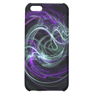 Light Within - Abstract Violet & Indigo Swirls Cover For iPhone 5C