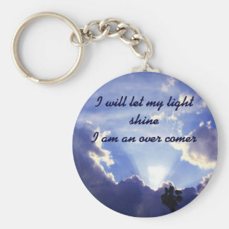 Light within the clouds_ keychains