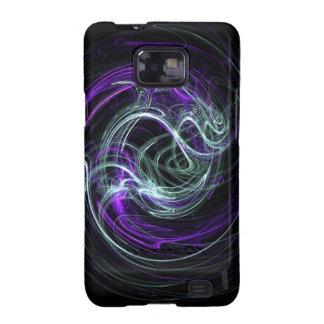 Light Within - Violet & Indigo Swirls Samsung Galaxy S2 Cases