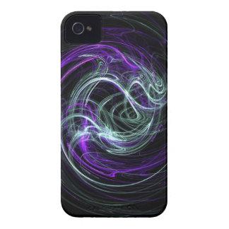 Light Within - Violet & Indigo Swirls iPhone 4 Case-Mate Case