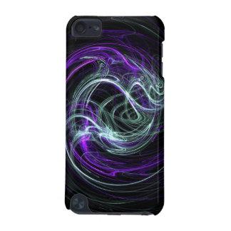 Light Within - Violet & Indigo Swirls iPod Touch 5G Cases