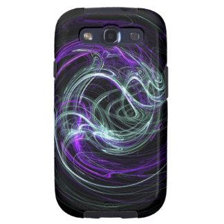 Light Within - Violet & Indigo Swirls Galaxy SIII Cover