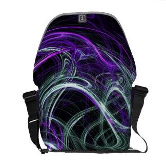 Light Within - Violet & Indigo Swirls Commuter Bag