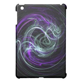 Light Within - Violet & Indigo Swirls Case For The iPad Mini