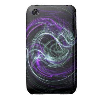 Light Within - Violet & Indigo Swirls iPhone 3 Case-Mate Case