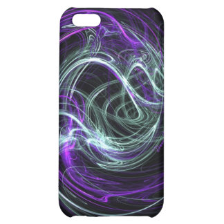 Light Within - Violet & Indigo Swirls iPhone 5C Case