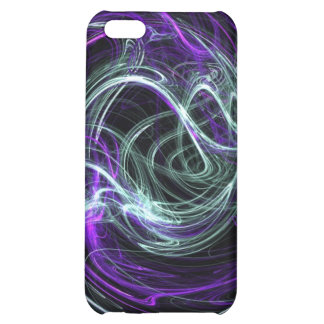 Light Within - Violet & Indigo Swirls Cover For iPhone 5C