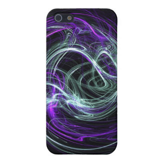 Light Within - Violet & Indigo Swirls Covers For iPhone 5