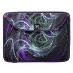 Light Within - Violet & Indigo Swirls MacBook Pro Sleeves