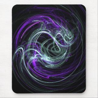 Light Within - Violet & Indigo Swirls Mouse Pad