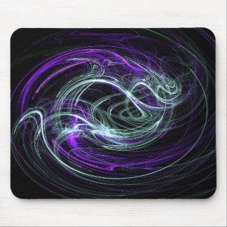 Light Within - Violet & Indigo Swirls Mousepads