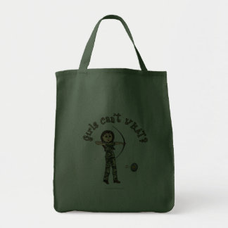 Light Woman Archery in Camouflage Canvas Bags