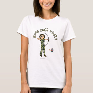 Light Woman Archery in Camouflage T-Shirt