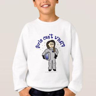 Light Woman Astronaut Sweatshirt